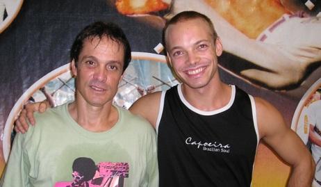 I even got the chance to meet Mestre Caveirinha, the man behind the Capoeira players in the Tekken video games