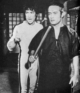 Dan Inosanto appeared in the Bruce Lee movie 'Game of Death'